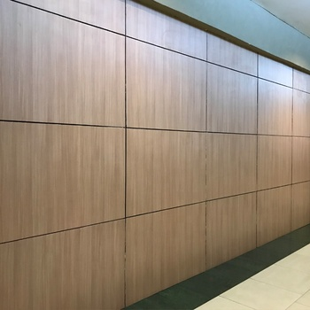 Debo phenolic resin hpl interior panel wood grain wall clading panel