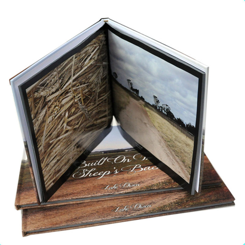 Print A4 size landscape Hard back album/photo book manufacturer