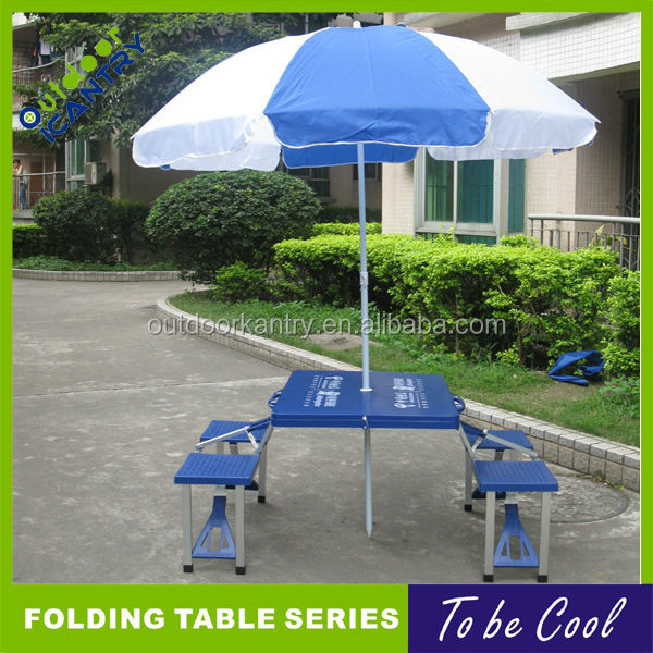 folding table with umbrella summer beach table and chair umbrella folding table
