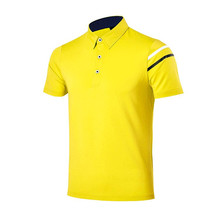 Fashion new heavy weight cheap 95% cotton 5% spandex polo t-shirts