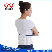 New products 2017 innovative product inflatable back support belt waist belt to cure lower back pain