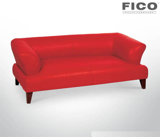 ER338 PERA DOUBLE SOFA | RED LEATHER