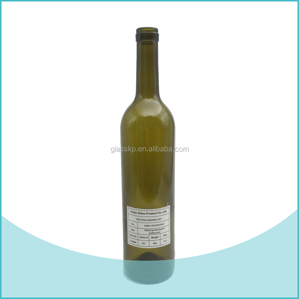750ml bordeaux wine bottles