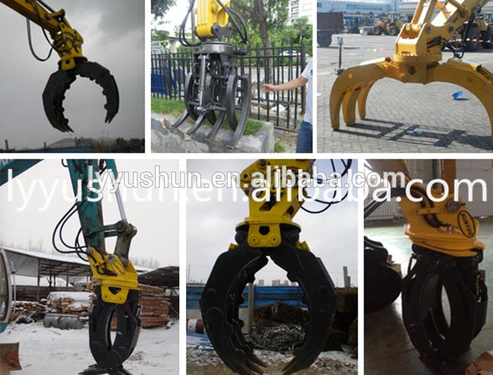 DOOSAN Hudraulic ROTATING GRAPPLE For Excavator DX140W/S030P/DX35Z/DX30Z/DX27Z