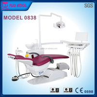 CE Certified brand new products 2016 Model 0838 fashional design hydraulic dental chair dental supplies catalog