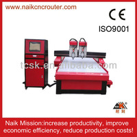 Hot sale Professional double Z axix router cnc madeira with high quality