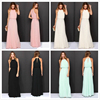 Women Boho Party Chiffon Bandage Beach Evening Sleeveless Maxi Sexy Long Summer Casual Plus Size Latest Dress Designs for Ladies