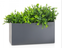 wall floating plant pot stainless steel pot plant