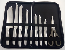 factory Premium private label available 9 PCS stainless steel cookware sets kitchen knife set