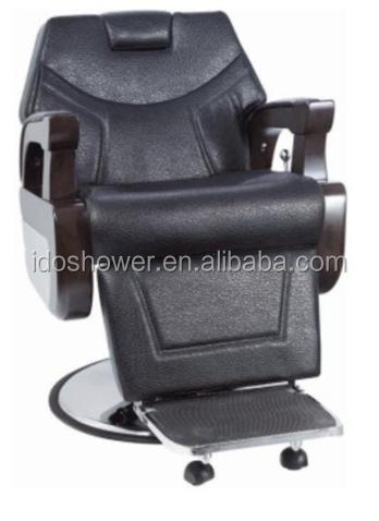 Professional comfortable hair salon furniture / folding barber chair
