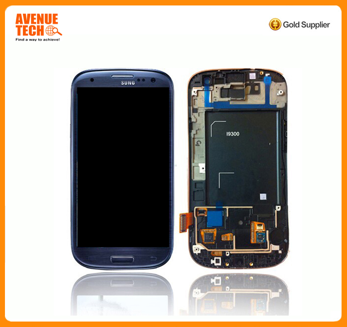 Factory supply for Samsung Galaxy S3 lll i9300 i9305 i535 i747 T999 LCD Digitizer Screen