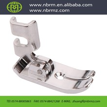 NBRM have 10 patents for invention very flexible presser foot