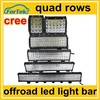 high power 2015 offroad led light bar quad rows 4x4 parts wholesale for working machine