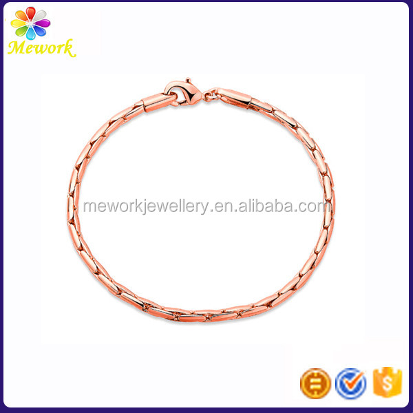 Wholesale Cheap Snake Chain Bike Chain Bracelet for Men Women Charms