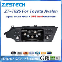 Zest factory Car dvd player for Toyota Avalon with Gps Navigation,Free map
