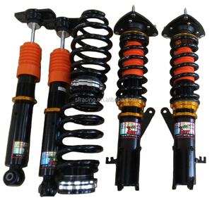 Adjustable coilover type auto suspension system and shock absorber for Cruze