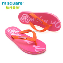 China comfortable synthetic rubber non-slip slippers ladies flip flops