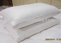 hotel duck down and feather pillow insert/hotel cotton feahter pillows/ down/feather pillow