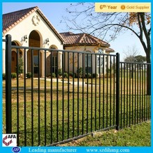 iron fence for homes, wrought iron fence panels/iron fence philippines