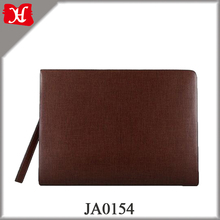 Fashion Classic Men Business Folder Clutch Genuine Leather Handbag