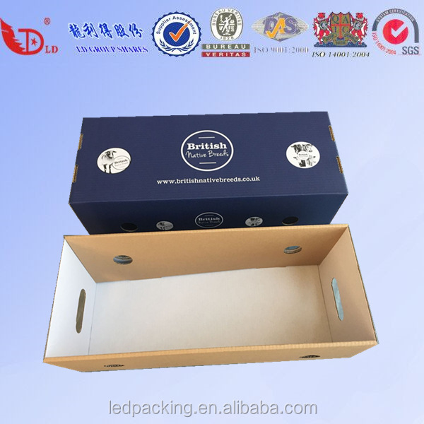 Custom High pressure resistance seafood frozen food storage delivery/shipping box