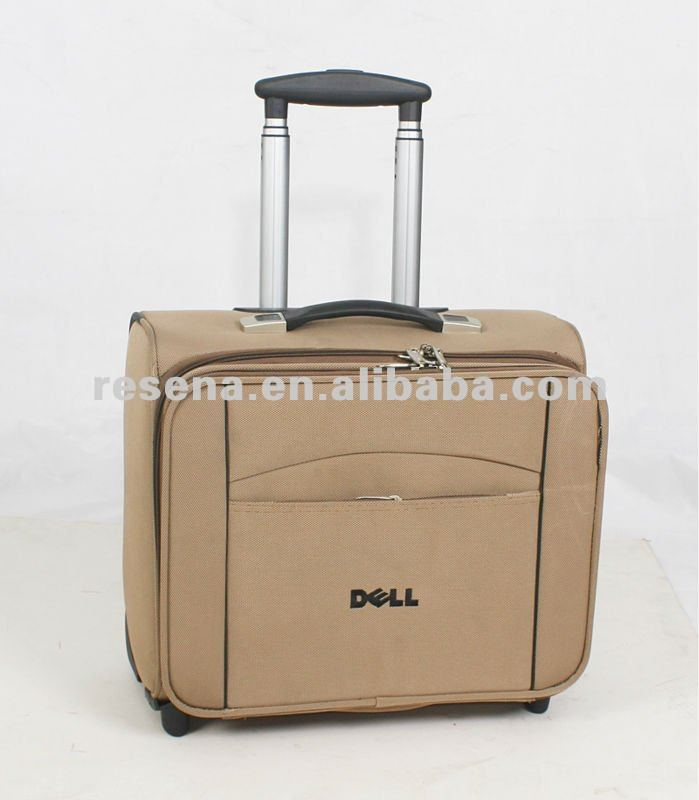 1680D Polyester Carbin Tolley Laptop Bag