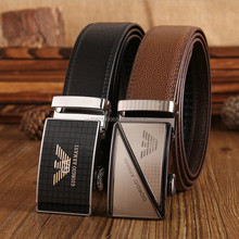 Hot!Free shipping new style men's belt buckle cowskin leather belt contracted business fashion casual belt for men