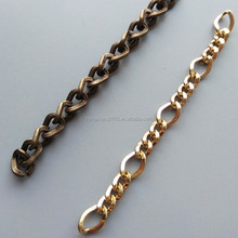 Hot Sale Golden Chains Stainless Steel Jewelry Gold Chain