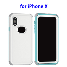 New Arrival IP68 Waterproof Bag Phone Case for iPhone X Shockproof Case
