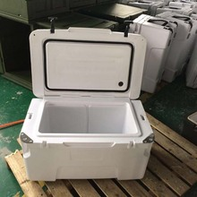 BAIBAO-L25-80 Picnic Cooler Box With Wheels And Rubber Latches