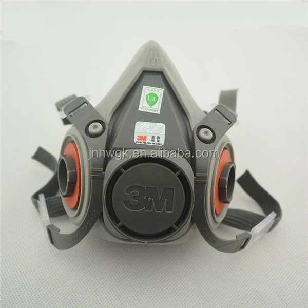 Famous Brand Original 3m 6200 Half Facepiece Masks/Respirator With Valve/Safety Dust Mask