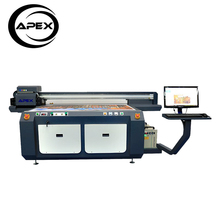 APEX digital flatbed UV printing machine large format phone case printer