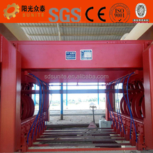 Expanded concrete brick aac machine
