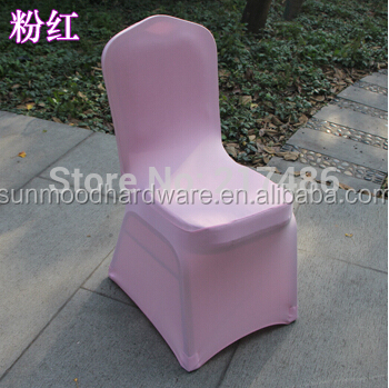 2014 hot sale Spandex Lycra Chair Cover for wedding/cover chair spandex/elastic chair cover for banquet chair 4