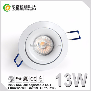 Specialized for Norway Market 83mm Cutout led downlight warm white ip44