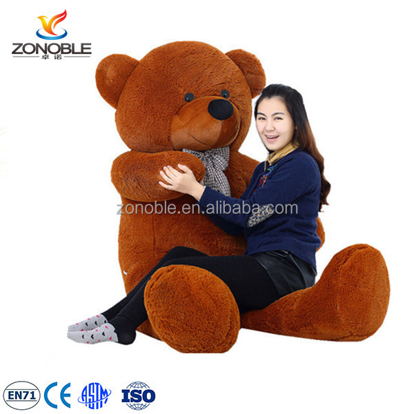 Promotional cheap 200cm big teddy bear cute kids toy stuffed soft plush giant teddy bear for sale