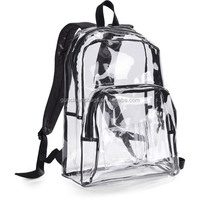 Cheap Promotional Transparent Kids Clear PVC Backpack