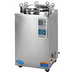 Cost-effective 35L 50L 75L 100L 120L 150L hospital stainless steel vertical steam autoclave sterilizer