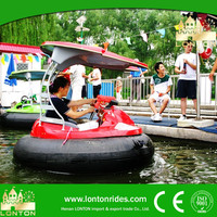 2015 summer hot selling Water amusement park rides water bumper boat for sale