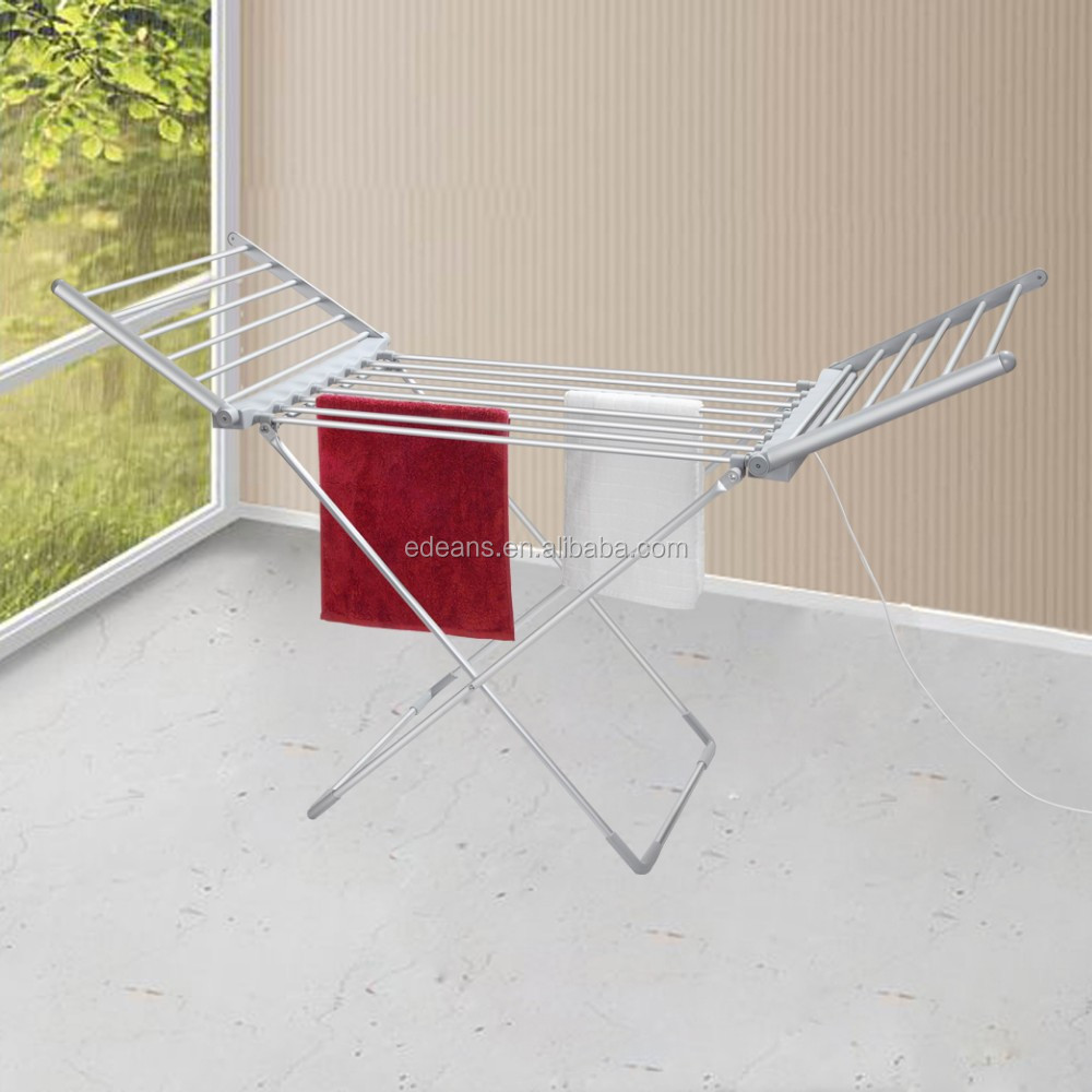 Ningbo Edeans ETW39AL-1H 230 Watts Winged Foldable Clothes Airer Heated, Electric Towel Dryer