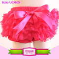 Hot sale ! photographer shoot elastic waist cotton baby tutu bloomers lace baby bloomers