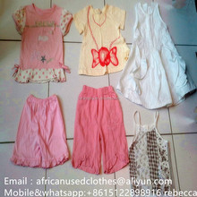 used clothing lots/2018 fashion used clothing/secondhand clothes/baby summer rummage(0-5years) in tanzania