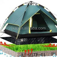 Dual automatic tent outdoor camping rope more than double folding tent Set automatic speed open 3-4 people