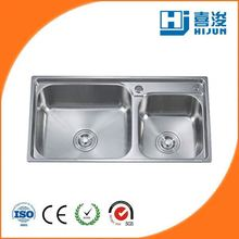 stock product stainless steel freestanding kitchen sink