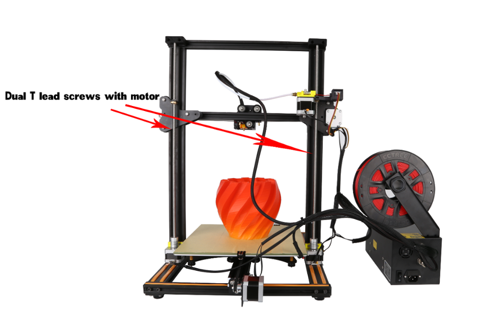 Chinese hot Style CR-10S 500*500*500mm Creality 3D Printer Diy Kit