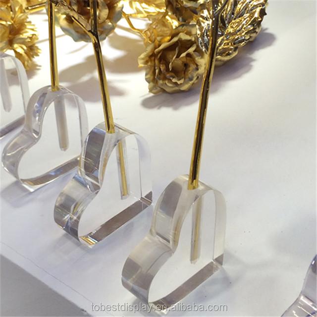 Acrylic Heart Vases Wholesaleyuanwenjun