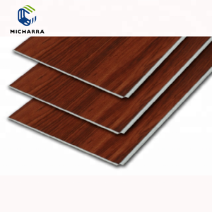 Wood Grain Waterproof SPC Click Vinyl Flooring