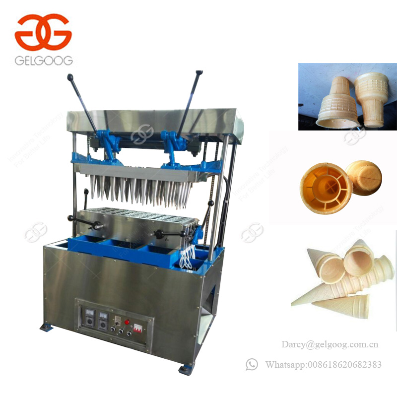 Stainless Steel Pizza Cone Baking Equipment Ice Cream Snow Cone Making Mahcine Price For Sale
