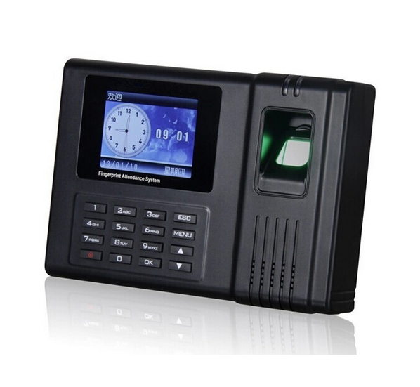 HF H5 Professional Online Security Personnel RFID Fingerprint Time Clock Calculator