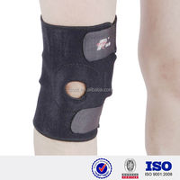 Black open patella spandex EVA memory Foam cap waterproof angle knee brace immobilize adjustable chinese professional knee pads